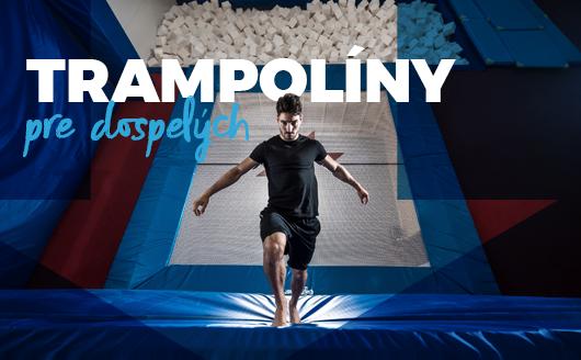trampoliny pre dospelych