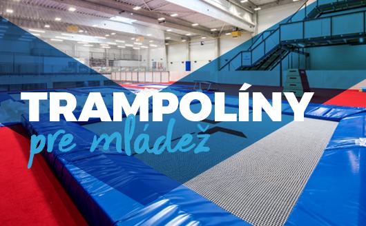 trampoliny pre mladez