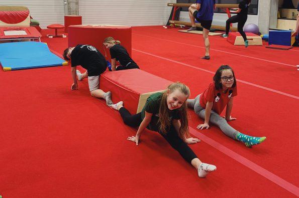 letný denný tábor v Bratislave gymnastika