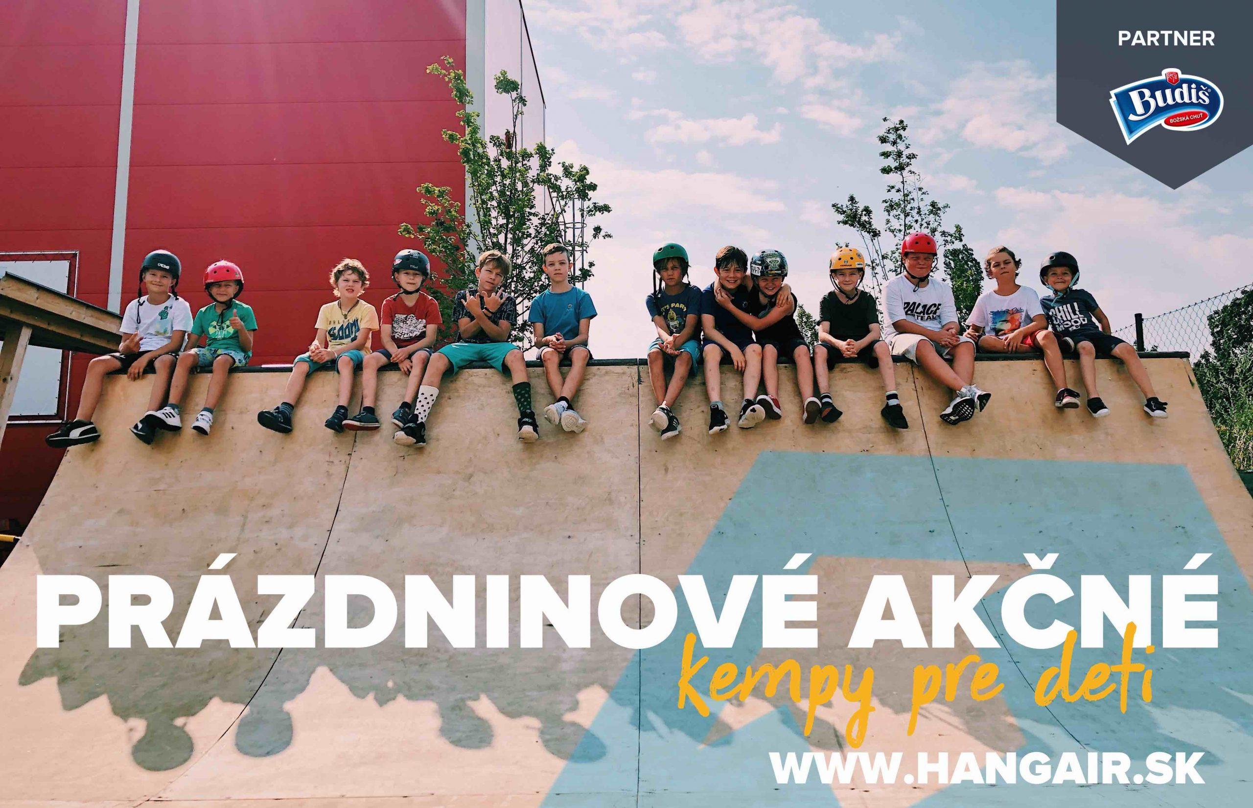 letný denný tábor v Bratislave